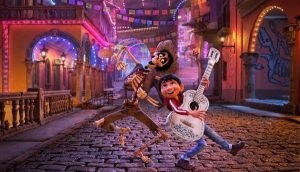 Maravilloso fotograma de Coco © 2017 Disney•Pixar. All Rights Reserved.
