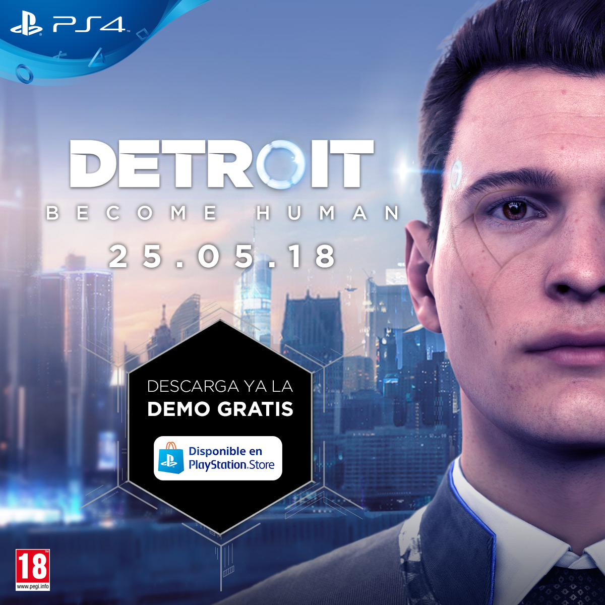 Demo de Detroit: Become Human