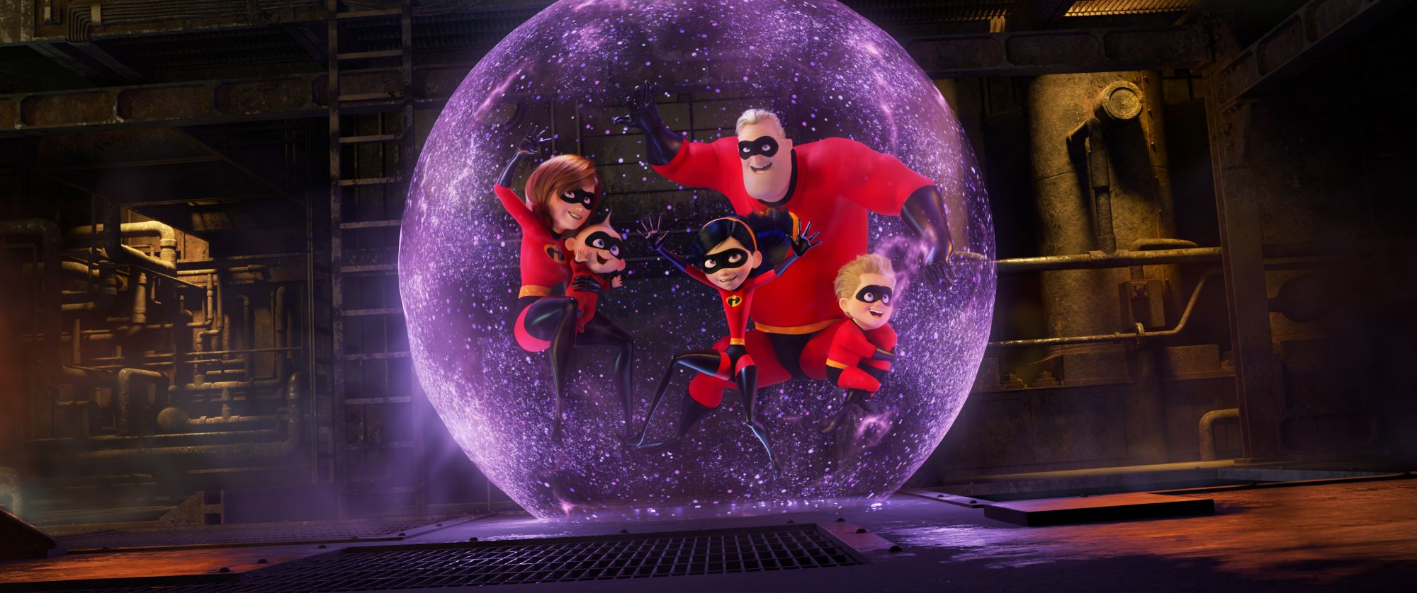 "PRACTICE MAKES PERFECT – Disney•Pixar's ""Incredibles 2"" busts into theaters on June 15, 2018. ©2018 Disney•Pixar. All Rights Reserved."