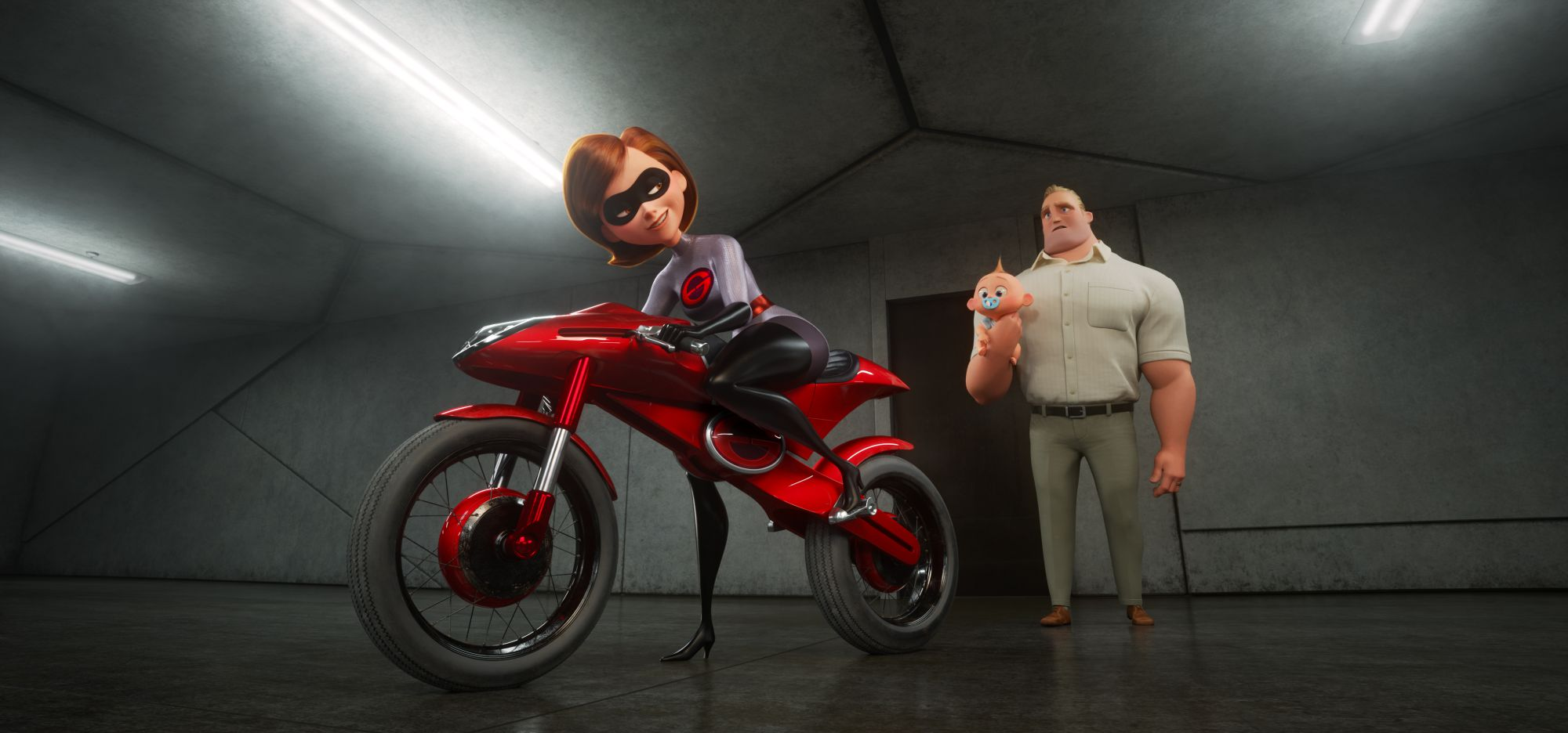 """TAKING THE WHEEL -- Disney•Pixar's """"Incredibles 2"""" busts into theaters on June 15, 2018. ©2018 Disney•Pixar. All Rights Reserved."""