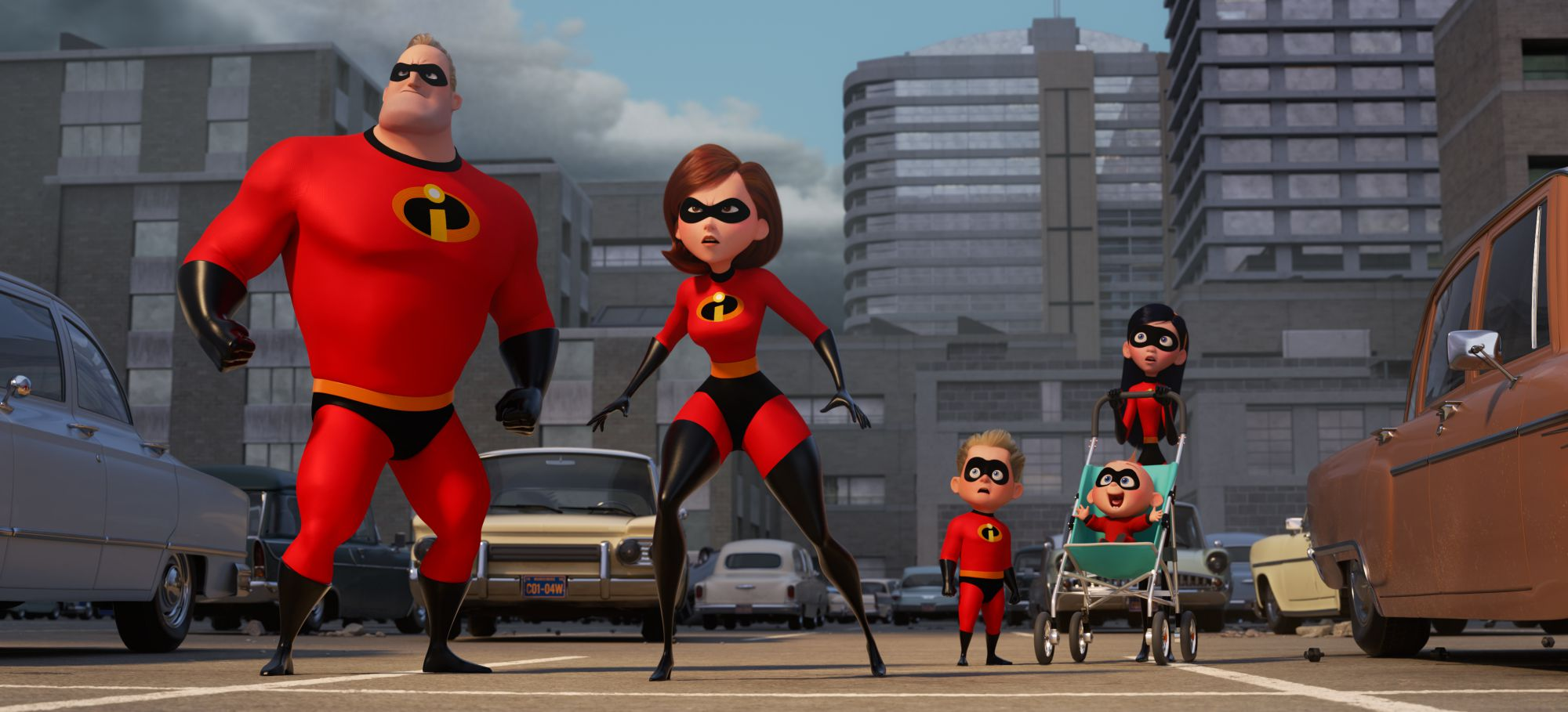 La Super Familia -- Helen (Interpretada por la voz de Holly Hunter) es la protagonista ©2017 Disney•Pixar. All Rights Reserved