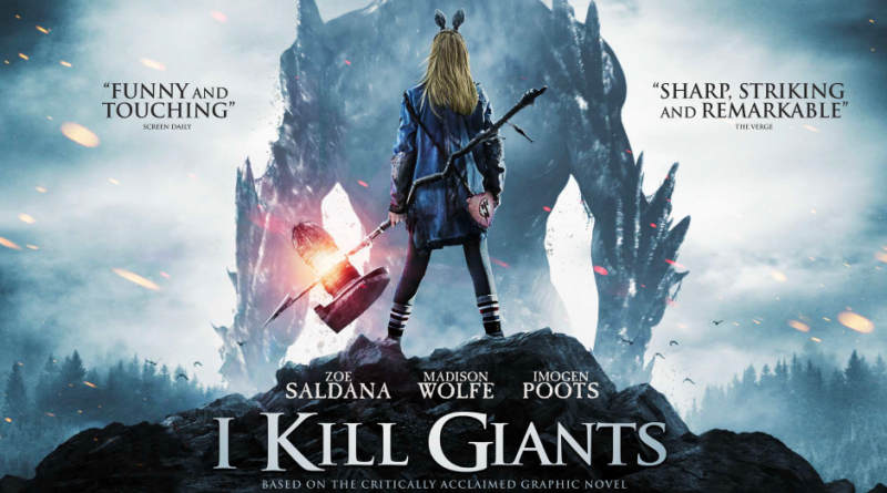 Portada de 'I Kill Giants'