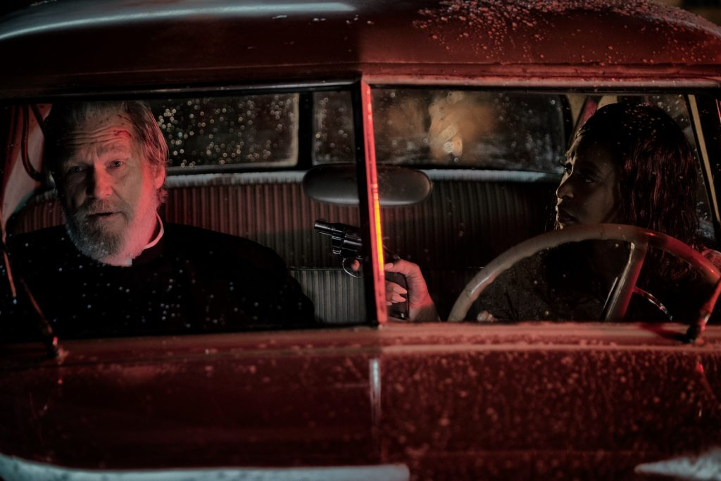 "Jeff Bridges and Cynthia Erivo star in Twentieth Century Fox's ""Bad Times at the El Royale."""